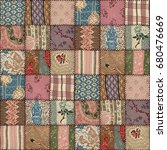 Country Patchwork Quilt...