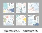 collection of creative... | Shutterstock .eps vector #680502625