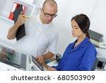 engineering student in... | Shutterstock . vector #680503909