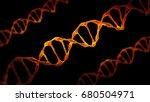 this scene viewed under a... | Shutterstock . vector #680504971