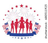 women's equality day | Shutterstock . vector #680511925