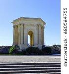 ch teau d'eau du peyrou ... | Shutterstock . vector #680564755