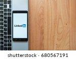 los angeles  usa  july 18  2017 ... | Shutterstock . vector #680567191