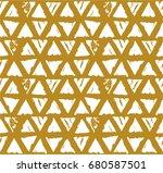 vector tie dye seamless pattern.... | Shutterstock .eps vector #680587501