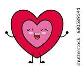heart icon image   Shutterstock .eps vector #680589241