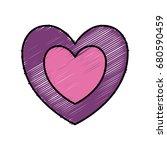 heart icon image   Shutterstock .eps vector #680590459