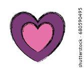 heart icon image   Shutterstock .eps vector #680590495