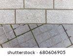 Macro Closeup Of Tiled...
