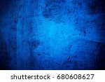 blue paint metal plate texture...