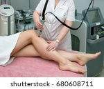 hair removal cosmetology... | Shutterstock . vector #680608711