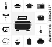 set of 12 editable kitchen...