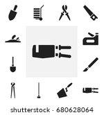set of 12 editable instrument...