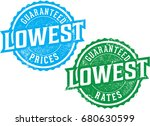 guaranteed lowest prices and... | Shutterstock .eps vector #680630599