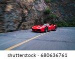 beijing   june 8  2017  ferrari ... | Shutterstock . vector #680636761
