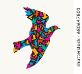 Abstract Bird.