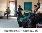 glastonbury  uk   2014  07... | Shutterstock . vector #680656255