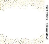 gold glitter background polka... | Shutterstock .eps vector #680681251