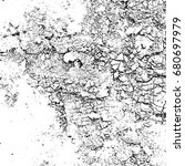 grunge black white. abstract... | Shutterstock . vector #680697979