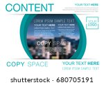 presentation layout design... | Shutterstock .eps vector #680705191