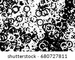 grunge background of black and... | Shutterstock . vector #680727811