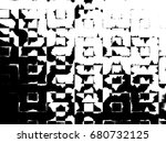 grunge background of black and... | Shutterstock . vector #680732125