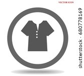 t shirt icon illustration... | Shutterstock .eps vector #680778169