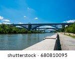 magnificent bridges are over... | Shutterstock . vector #680810095