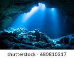 Sun Light Into The Underwater...