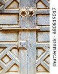 brown    morocco in    africa... | Shutterstock . vector #680819017