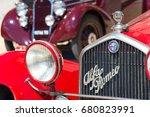 san pellegrino terme  italy  16 ... | Shutterstock . vector #680823991