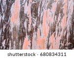 Rusty Metal With Peeling Paint...