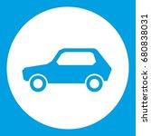 only motor vehicles allowed... | Shutterstock .eps vector #680838031