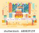 stock vector illustration huge... | Shutterstock .eps vector #680839159