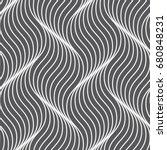 vector seamless pattern. modern ... | Shutterstock .eps vector #680848231