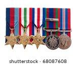 World War Ii Canadian Medals O...
