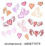 vector illustration hand drawn...   Shutterstock .eps vector #680877079