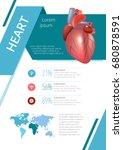 internal human organs...   Shutterstock .eps vector #680878591