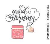 "hand drawn lettering ""good...   Shutterstock .eps vector #680888461"