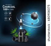 collagen serum and vitamin... | Shutterstock .eps vector #680908375