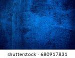 Blue Paint Metal Plate Texture...