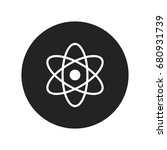science icon vector isolated | Shutterstock .eps vector #680931739