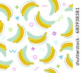 vector seamless pattern with... | Shutterstock .eps vector #680938381