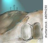 Religious Easter Resurrection...