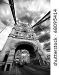 Tower Bridge London England...