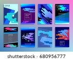covers with minimal design....   Shutterstock .eps vector #680956777
