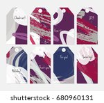 hand drawn creative tags.... | Shutterstock .eps vector #680960131