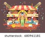 stock vector illustration... | Shutterstock .eps vector #680961181