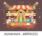 stock vector illustration... | Shutterstock .eps vector #680961211