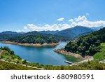 Lake Miyagase In The Summer