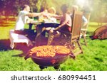 leisure  food  people and... | Shutterstock . vector #680994451